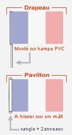 drapeaux et pavillons
